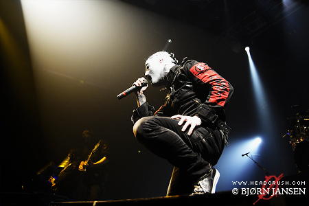Foto Slipknot live in Winterthur Schweiz