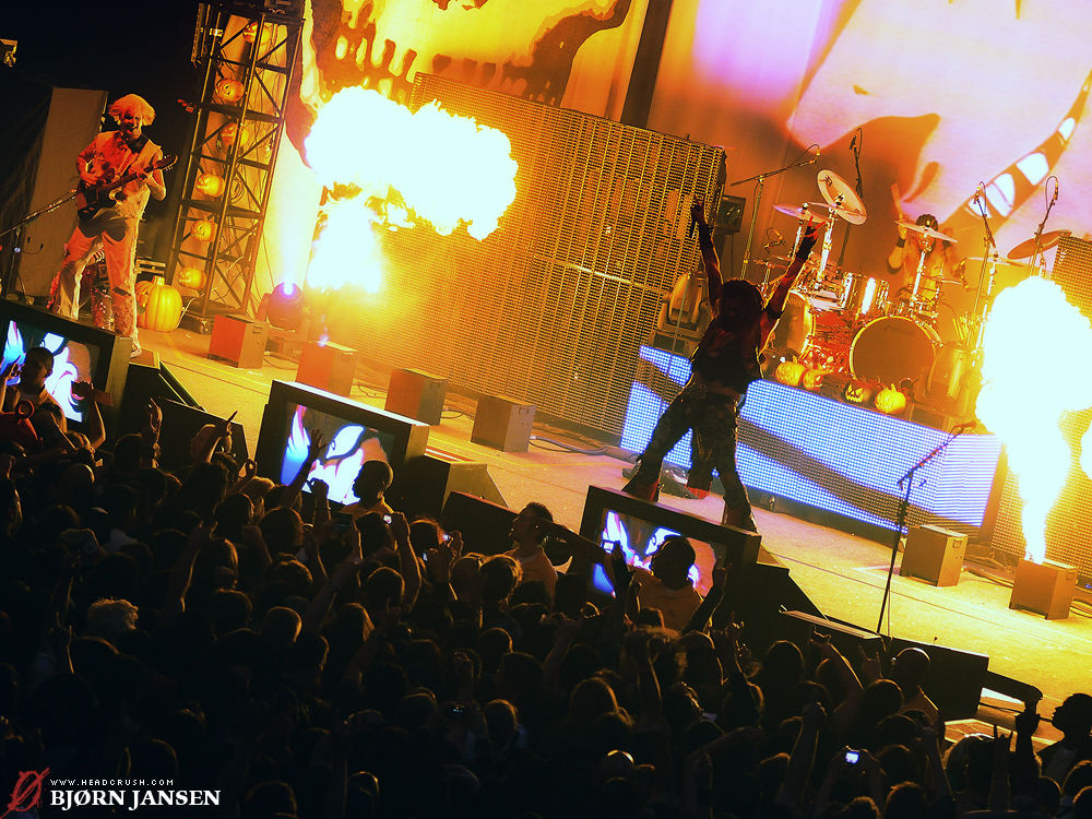 Rob Zombie live in Los Angeles | Photo: Bjørn Jansen