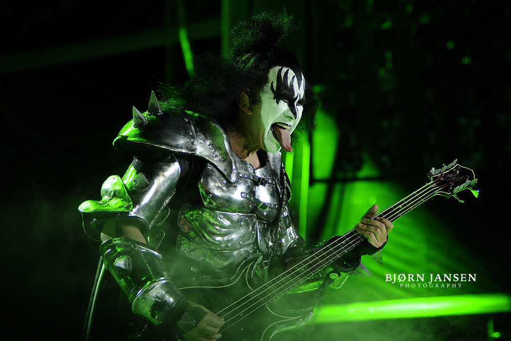 Gene Simmons mit Kiss live bei Rock am Ring