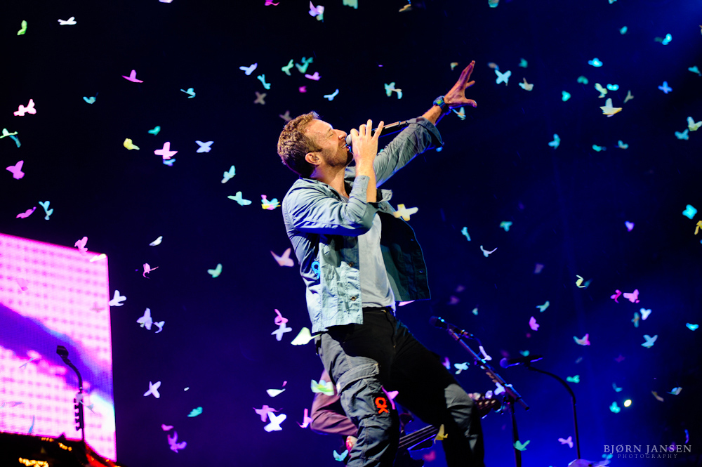 Photo of Coldplay at Rock am Ring 2011 © Bjørn Jansen
