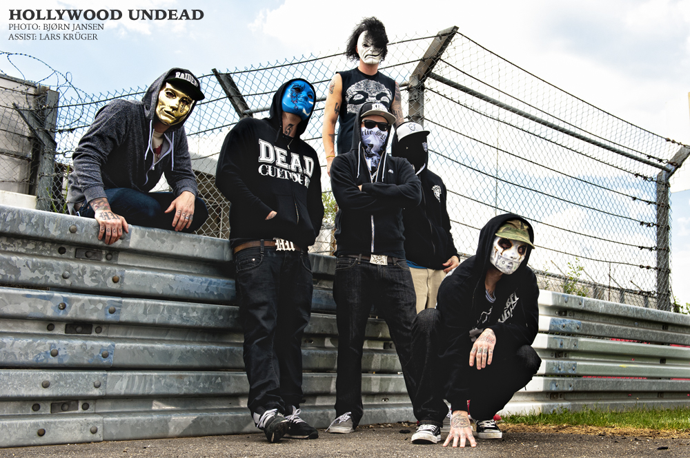 Promotion Bandportrait: Hollywood Undead © Bjørn Jansen