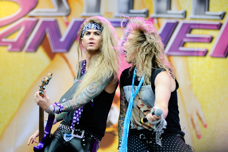 Steel Panther live bei Rock am Ring - Foto: Bjørn Jansen