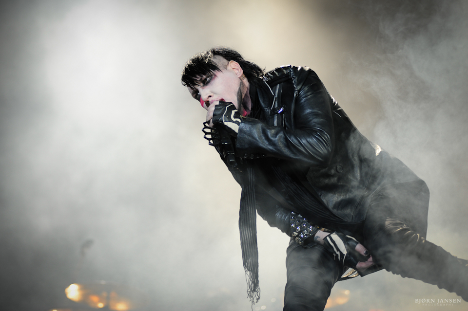 Marilyn Manson live bei Rock am Ring 2012 - Foto: Bjørn Jansen