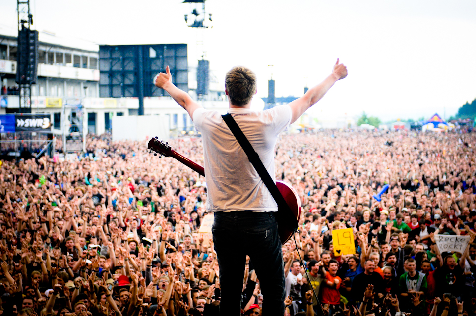 The Subways OnStage bei Rock am RIng - Foto: Bjørn Jansen
