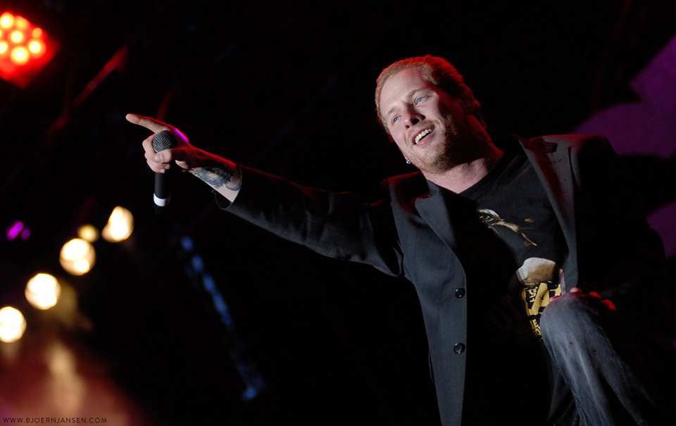 Corey Taylor mit Stone Sour bei Rock am Ring 2006