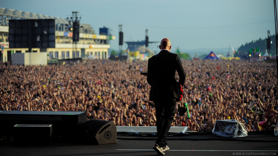 Onstage bei Stone Sour bei Rock am Ring