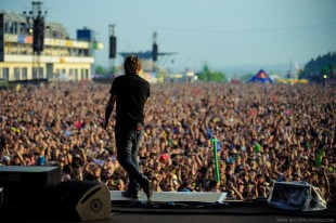 Corey Tayler und die Rock am Ring Crowd