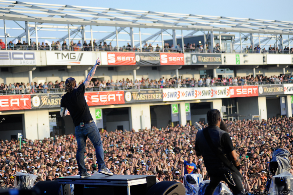 Stone Sour in Aktion bei Rock am Ring