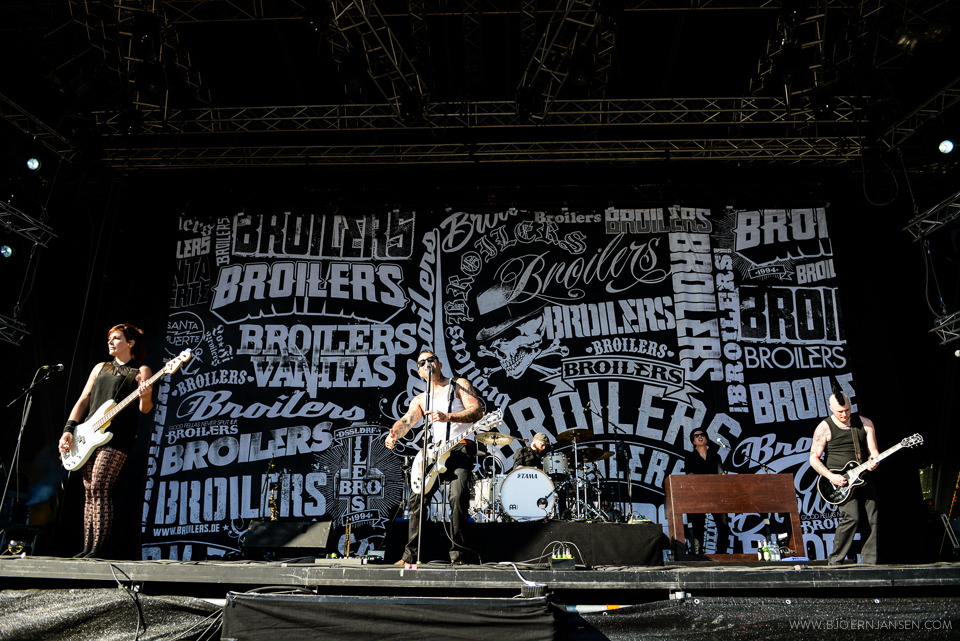 Broilers live bei Rock am See in Konstanz