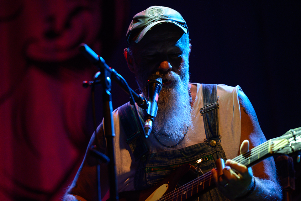 DIe Blueslegende Seasick Steve in Zürich
