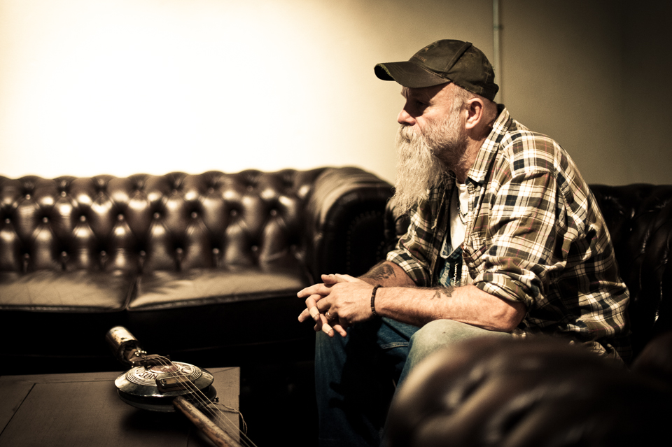 Seasick Steve Backstage in Zürich