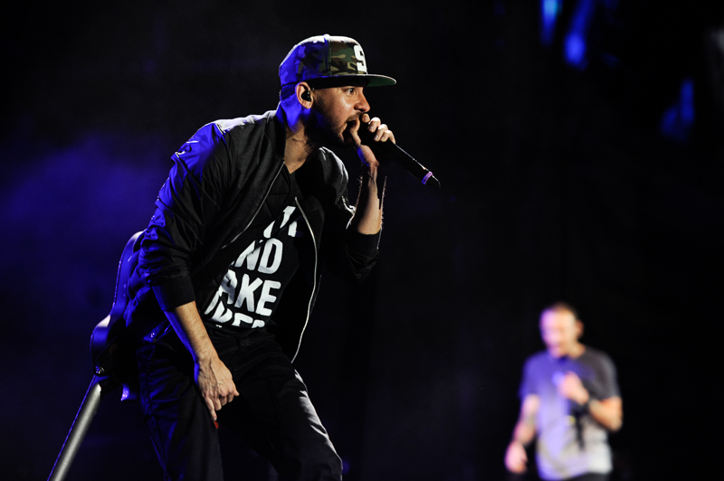 Mike Shinoda mit Linkin Park- Rock am RIng 2014
