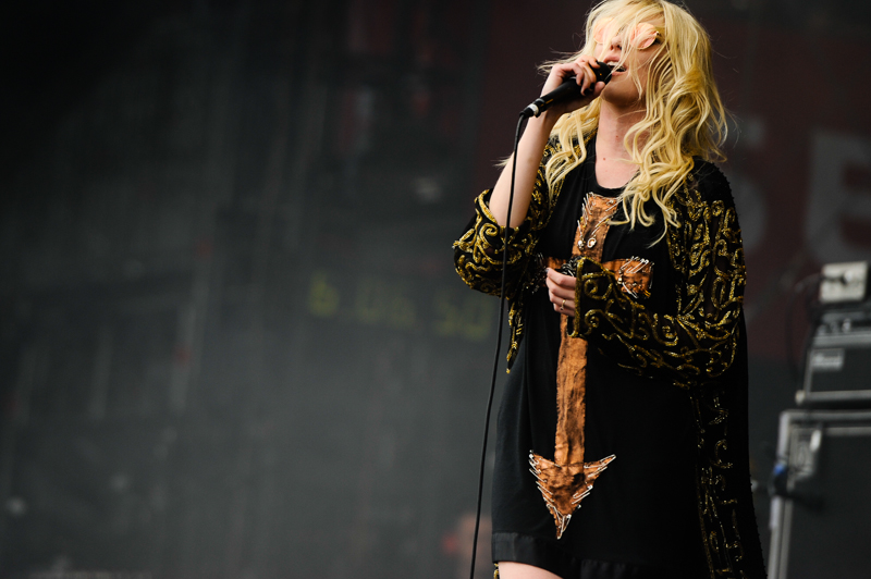 Taylor Momsen Sängerin von The pretty Reckless, - Rock am Ring 2014