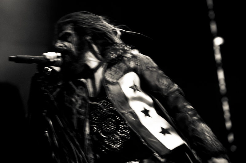 Rob Zombie in Action