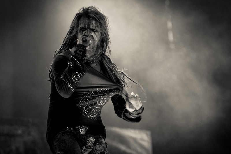 Rob Zombie live bei Rock am Ring 2014