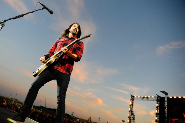 Dave Grohl von den Foo Fighters live bei Rock am Ring 2015