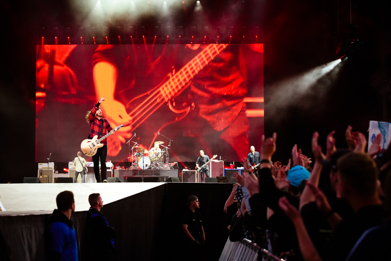 Foo Fighters live am Ring 2015