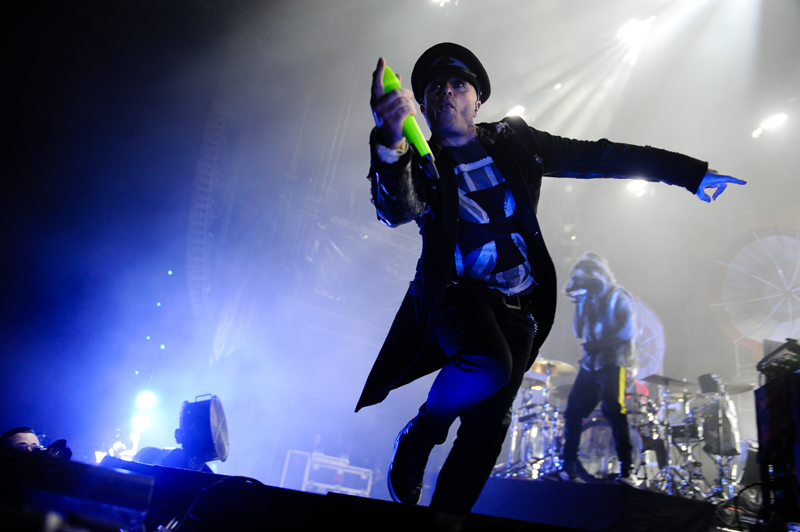 Keith Flint - The Prodigy bei Rock am Ring 2015
