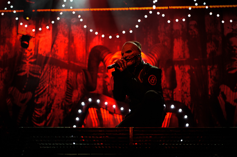 Corey Taylor mit Slipknot live bei Rock am Ring 2015