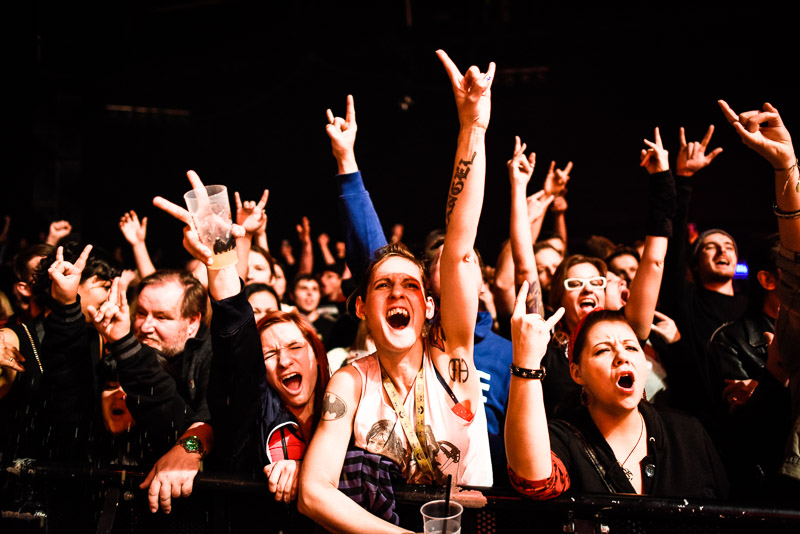 Fans beim The Rock N Roll Wrestling Bash