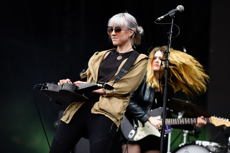 Megan Lovell von Larkin Poe live bei rock am Ring