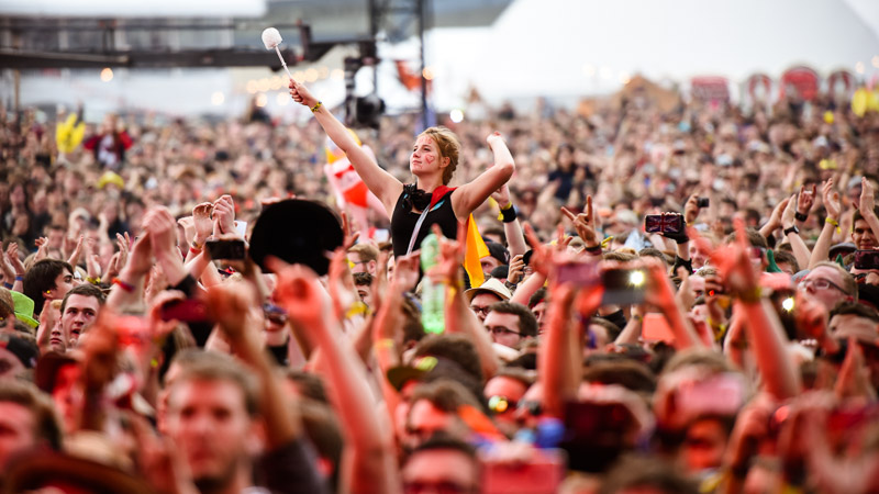 Tenacious D Fans bei Rock am Ring 2016