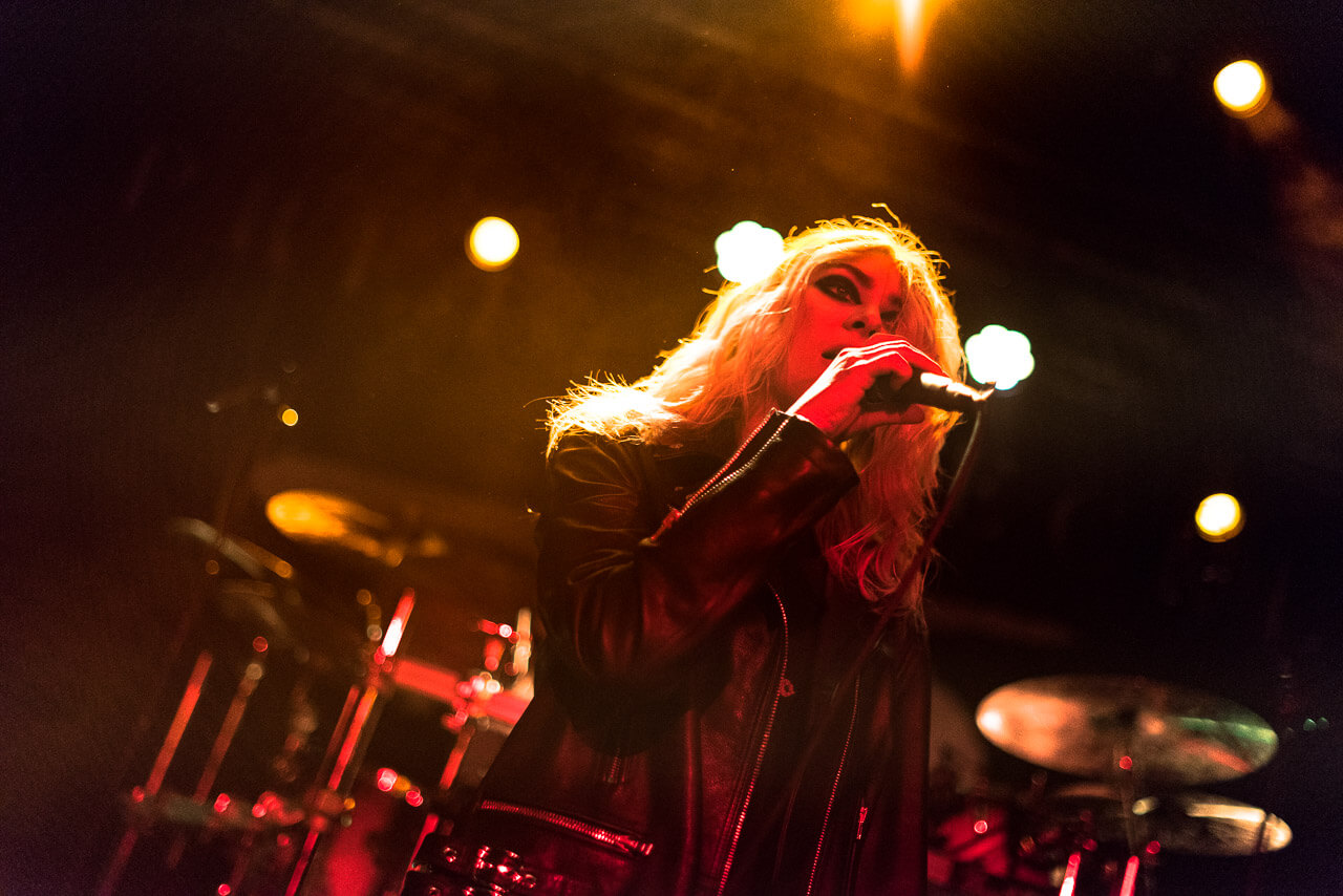 Taylor Momsen - The pretty Reckless live in Europe
