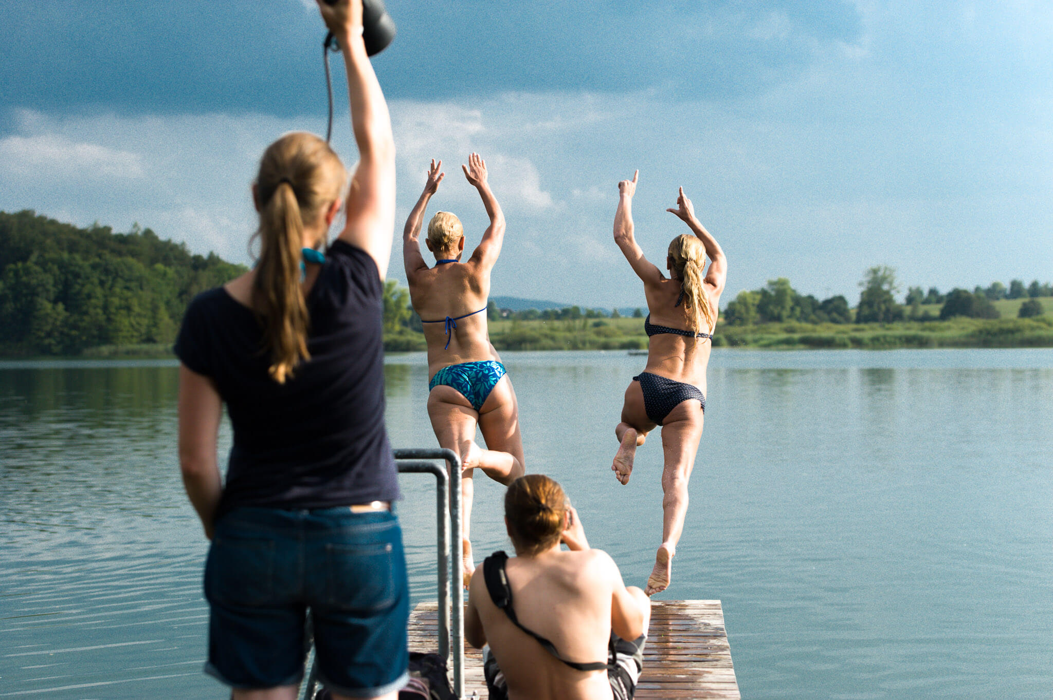 Fotoshooting on Location am See