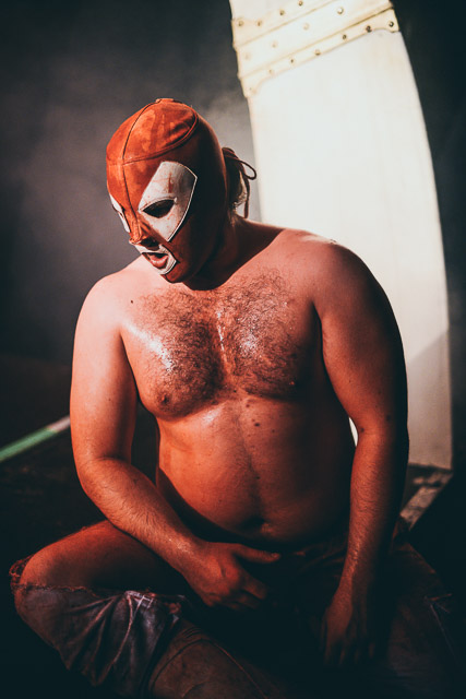 Foto El Brujo - The Rock n Roll Wrestling Bash - Fotograf: Bjørn Jansen