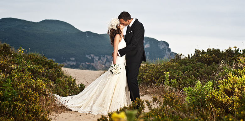 Hochzeitsfotografie am Strand in Spanien, Laredo