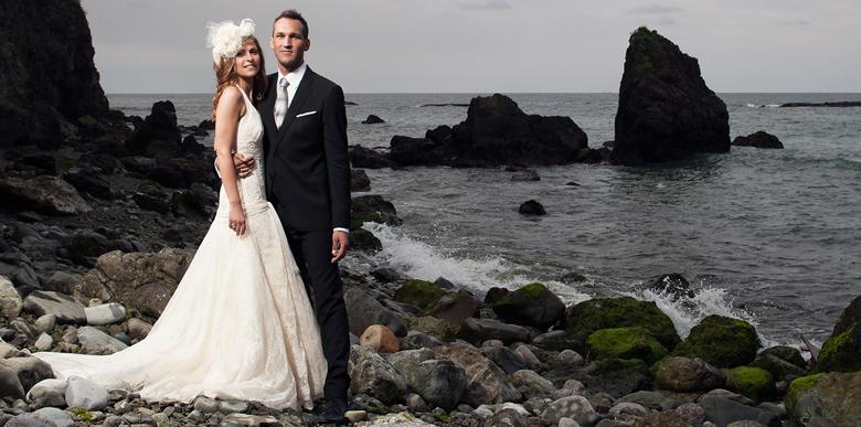 Hochzeitsfotografie in Spanien, Laredo