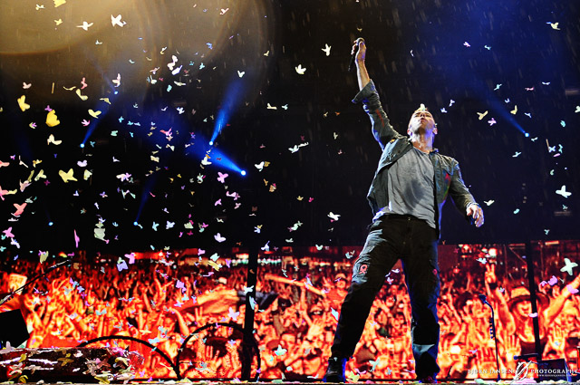 Coldplay, Rock am Ring // © Bj�rn Jansen, all rights reserved