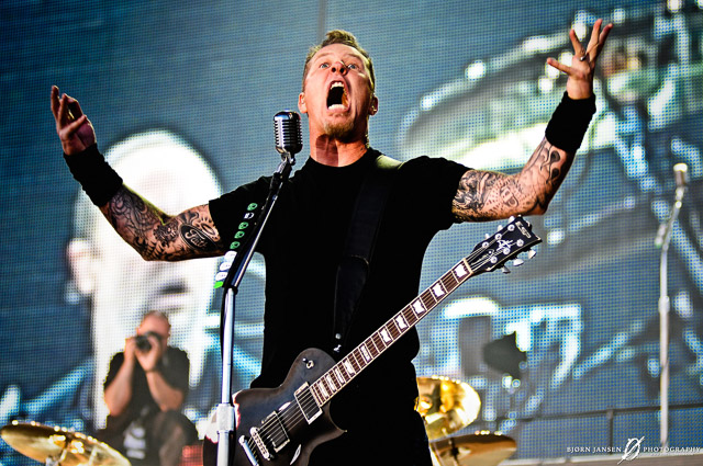 James Hetfield, Metallica - Sonisphere Festival // © Bj?rn Jansen, all rights reserved
