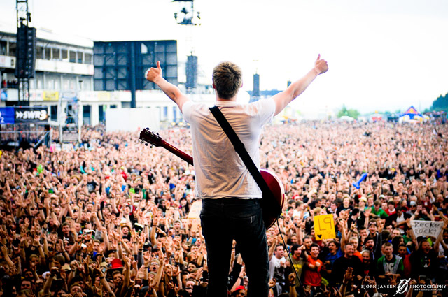 Billy Lunn - The Subways - Rock am Ring � Bj�rn Jansen